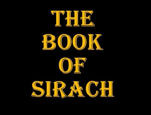 Banned Books of the Bible (III): The Wisdom of Jesus, the Son of Sirach